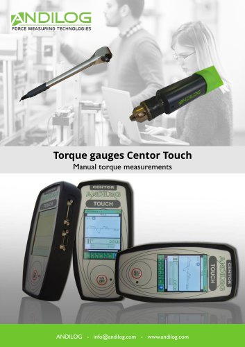 Torque gauges Centor Touch