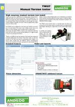 Twist, manual torsion bench - 1