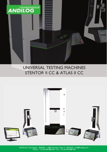 Universal test stand - Atlas II and Stentor II