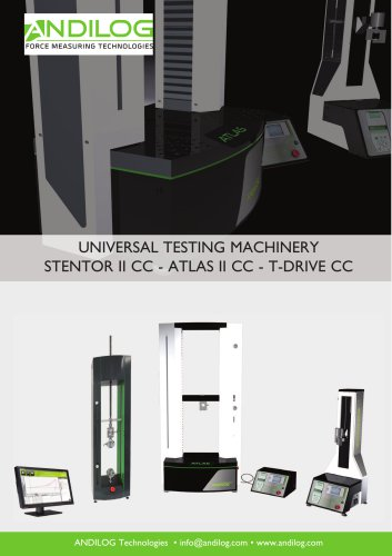 Universal testing machines Stentor Atlas T-Drive