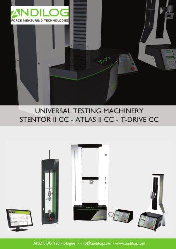 Universal testing machines Stentor Atlas T-Drive