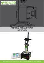 Vertical torque tester - DRIVETORK CC - 1