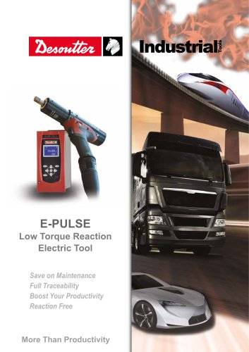 E-PULSE Low Torque Reaction Electric Tool