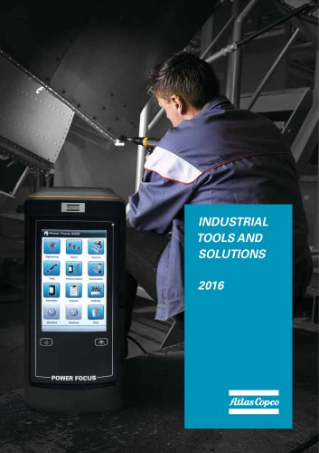 Atlas Copco Industrial Tools & Solutions 2016