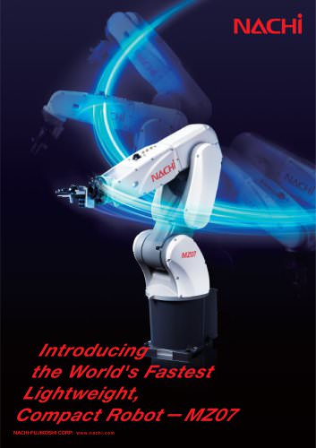 Introducing the World's Fastest Lightweight, Compact Robot - MZ07