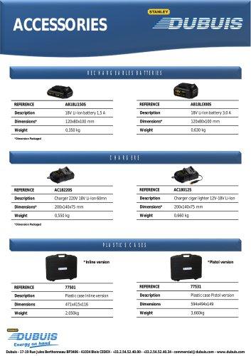 Accessoires Gamme Neoelec