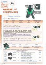 D36 - Hydraulic crimping tool - 1