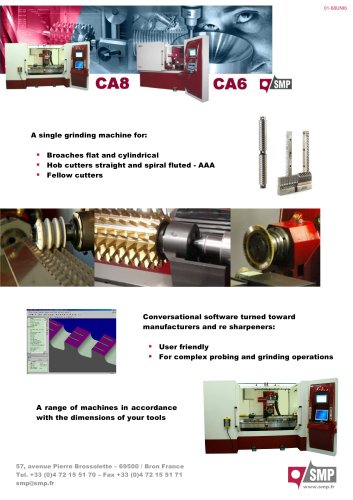 5 axis CNC cylindrical grinding machine
