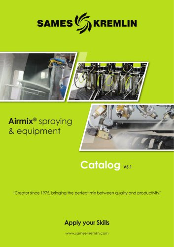 Airmix® spraying and equipment