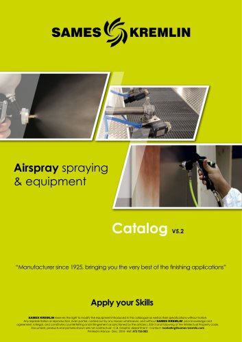 Airspray spraying & equipment