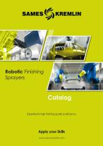 Catalog Robotic Finishing Sprayers SAMES KREMLIN
