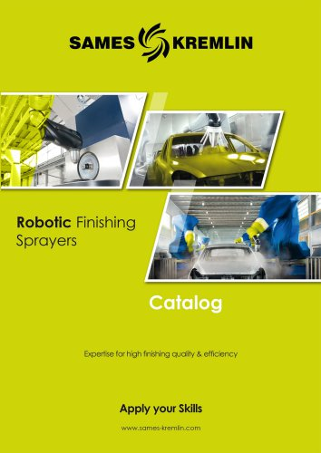 Catalog Robotic Finishing Sprayers SAMES KREMLIN