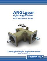 Inch and Metric Series Anglgear Right Angle Drive Catalogue
