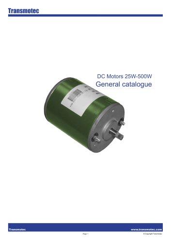 Complete Motors DC 25W 500W Catalogue