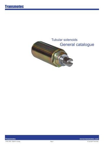 Complete Solenoids Tubular Catalogue