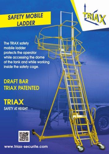 Flyer mobile safety ladder