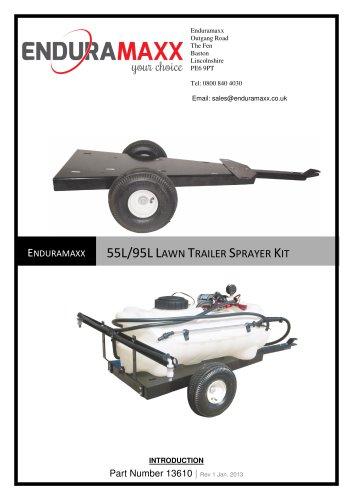 Lawn Trailer Kit ? 55 & 95L