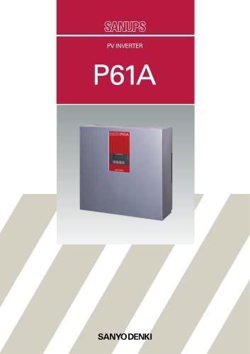 P61A Grid Tie Photovoltaïc Inverter