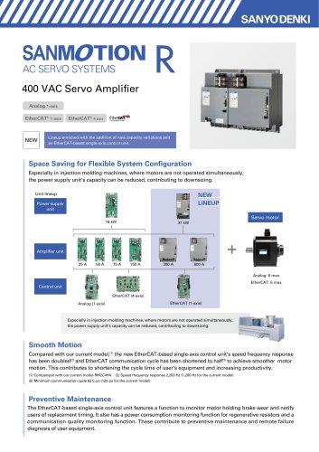 SANMOTION R AC Servo Amplifier Multi-axis