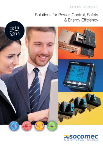 General catalogue : Solutions for Power Control, Safety and Energy Efficiency