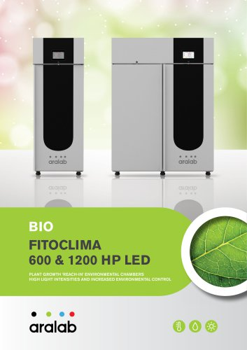 FITOCLIMA 2500 PLANT GROWTH CHAMBER