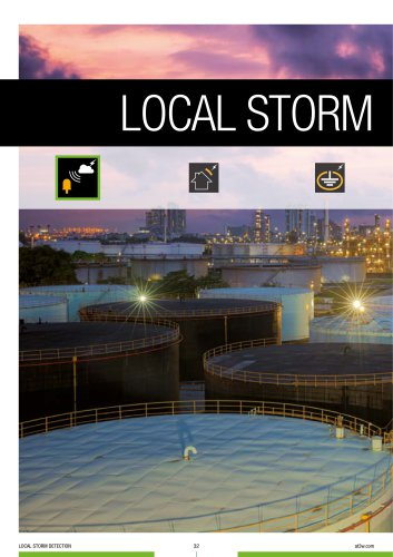 Local storm detection