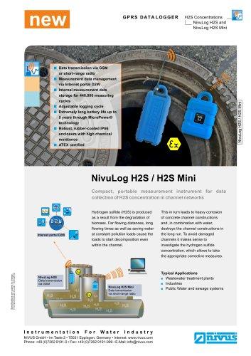 Data Logger H2S / H2S Mini