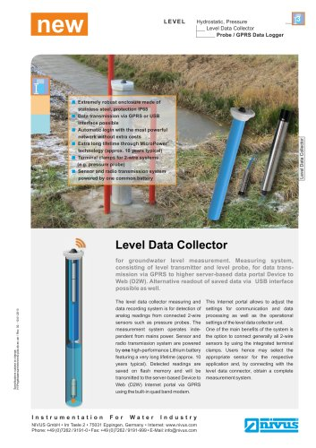 Level Data Collector