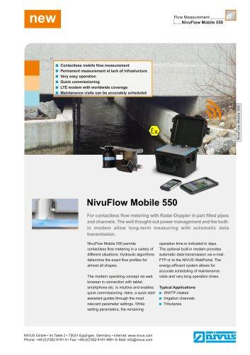 NivuFlow Mobile 550