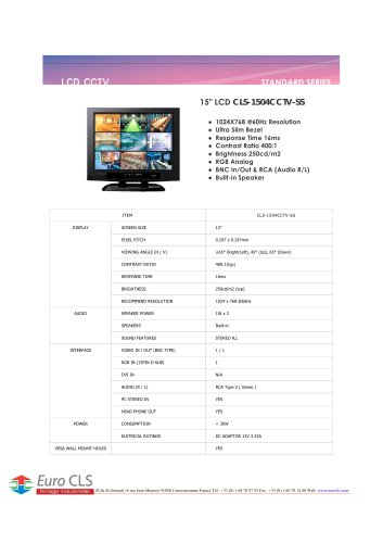 CLS-1504CCTV-SS