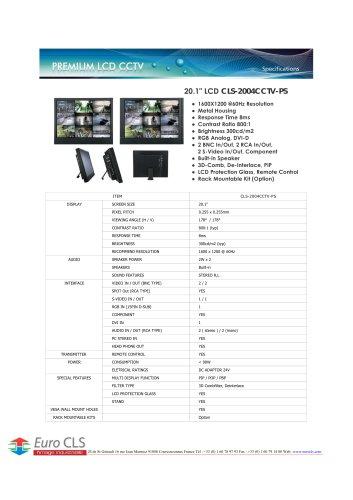 CLS-2004CCTV-PS