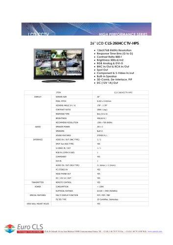 CLS-2604CCTV-HPS