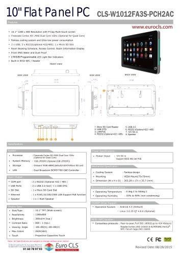 CLS-W1012FA3S-PCH2AC