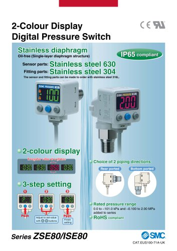 Colour Display Digital Pressure Switch