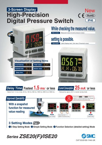 High-Precision Digital Pressure Switch