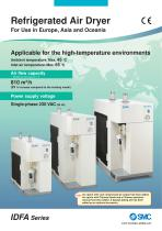 Refrigerated Air Dryer For Use in Europe, Asia and Oceania