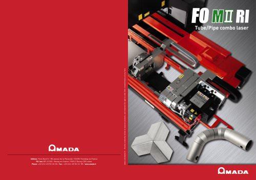 FO M II RI Tube & pipe combo laser machine