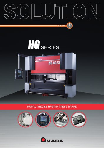 HG SERIES - AMADA - PDF Catalogs | Technical Documentation | Brochure