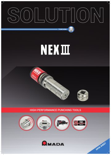 NEX III High performance punching tools