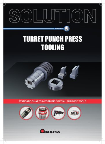 TURRET PUNCH PRESS TOOLING