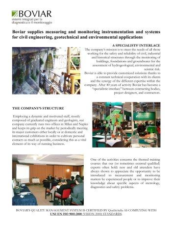 BOVIAR - Company Profile 2013