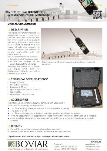 Digital crackmeter