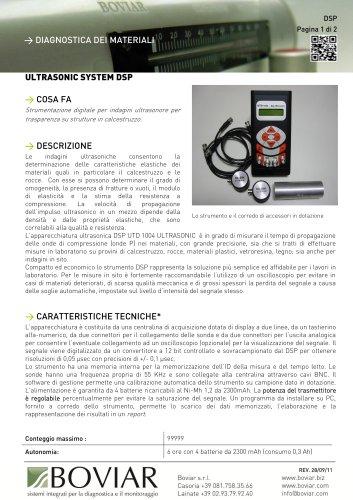 DSP ultrasonic system