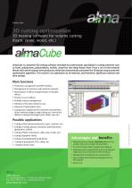 Product Flyer almaCube