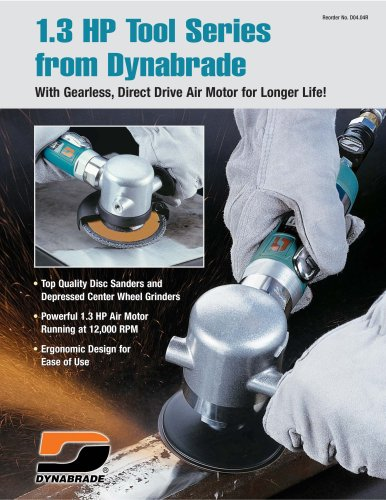 1.3 HP Tool Series from Dynabrade