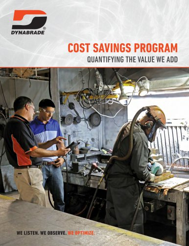 COST SAVINGS PROGRAM