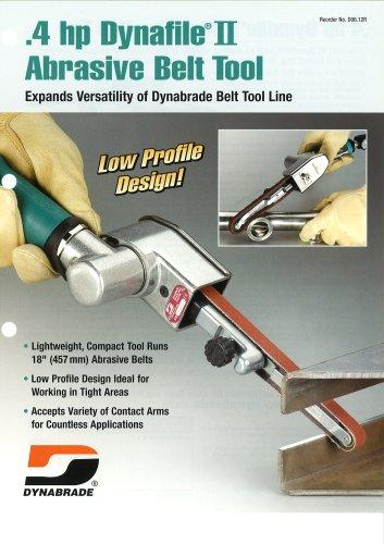 Dynabrade .4 hp Dynafile II Abrasive Belt Tool