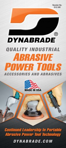 Dynabrade Abrasive Power Tools