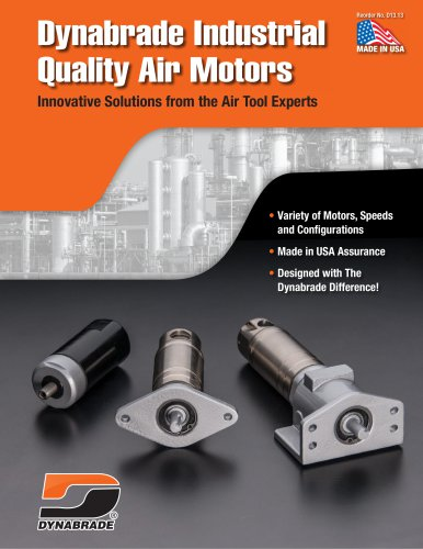 Dynabrade Industrial Quality Air Motors