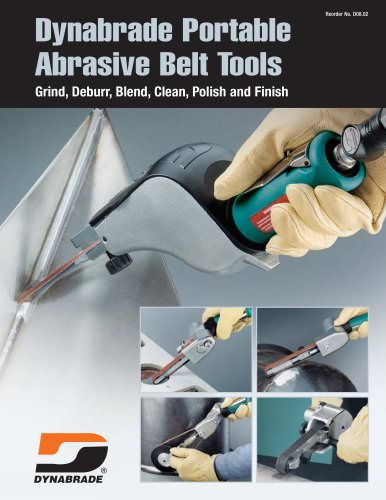 Dynabrade Portable Abrasive Belt Tools